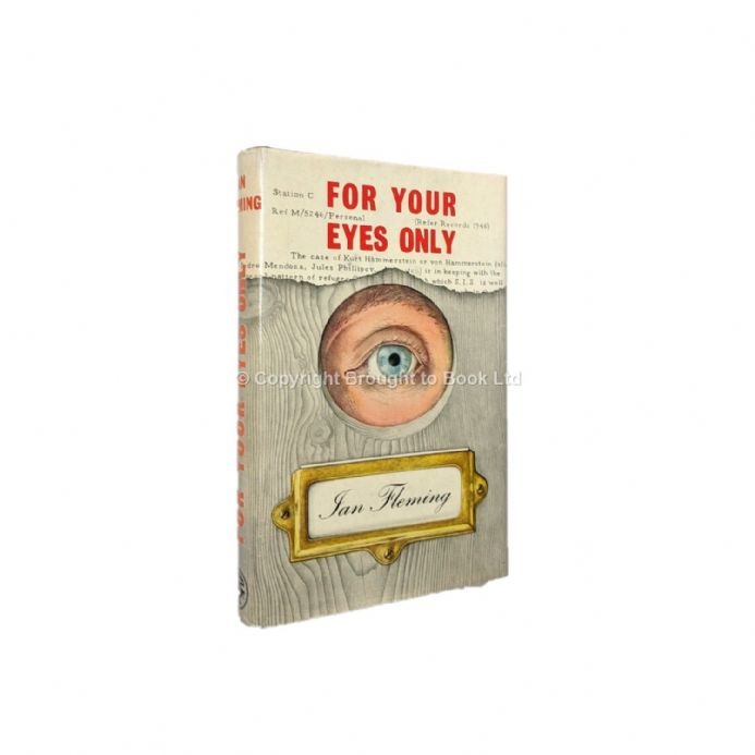 For Your Eyes Only Ian Fleming First Edition Jonathan Cape 1960